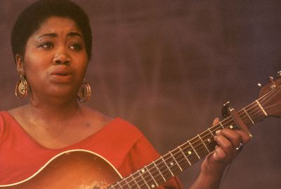 folk music and the civil rights movement