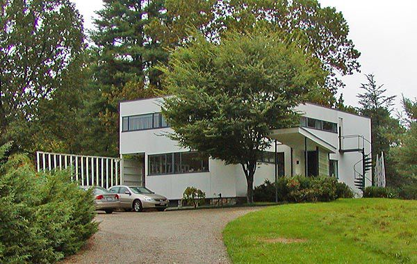 The Gropius House in Lincoln, Massachusetts