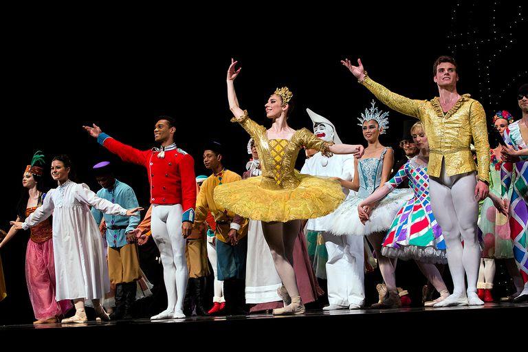Premiere Of 'The Nutcracker' Ballet With Queen As Designer In Copenhagen