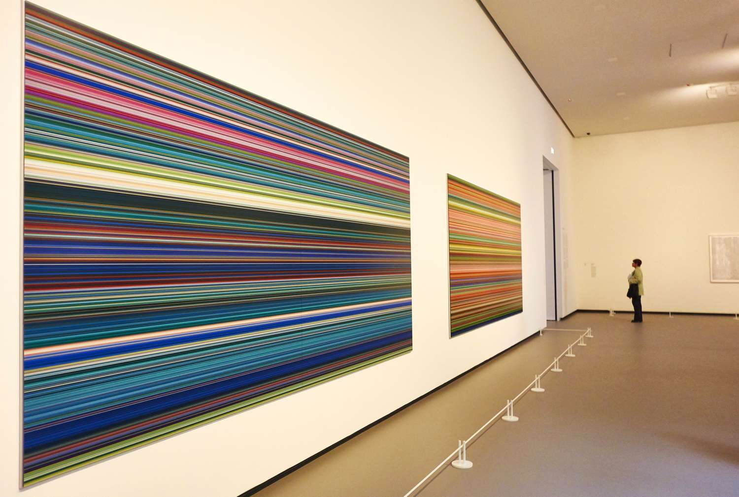 Gerhard Richter abstract color chart