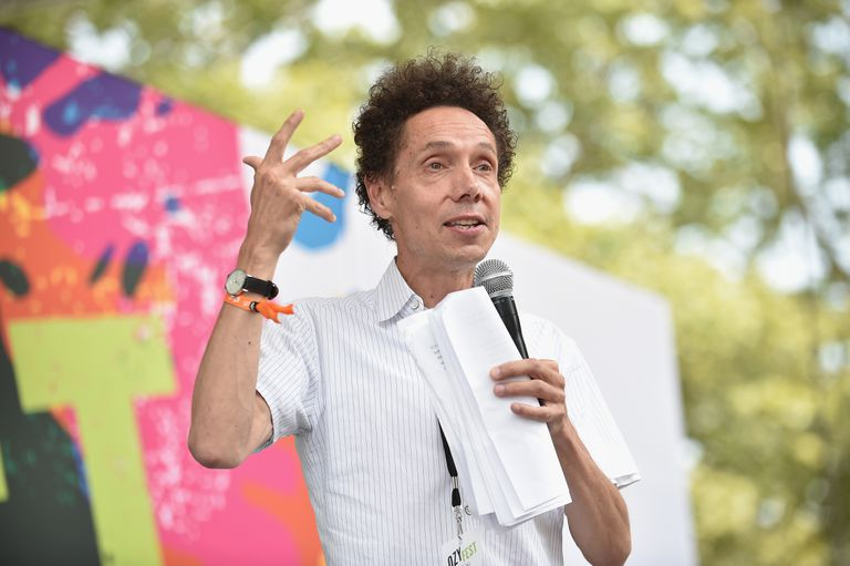 Malcolm Gladwell speaking at OZY FEST