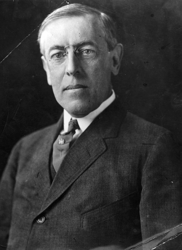 Woodrow Wilson circa 1912: