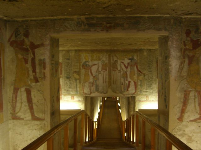 Entrance to the Tomb of Twosret and Setnakhte; 19th-20th Dynasties