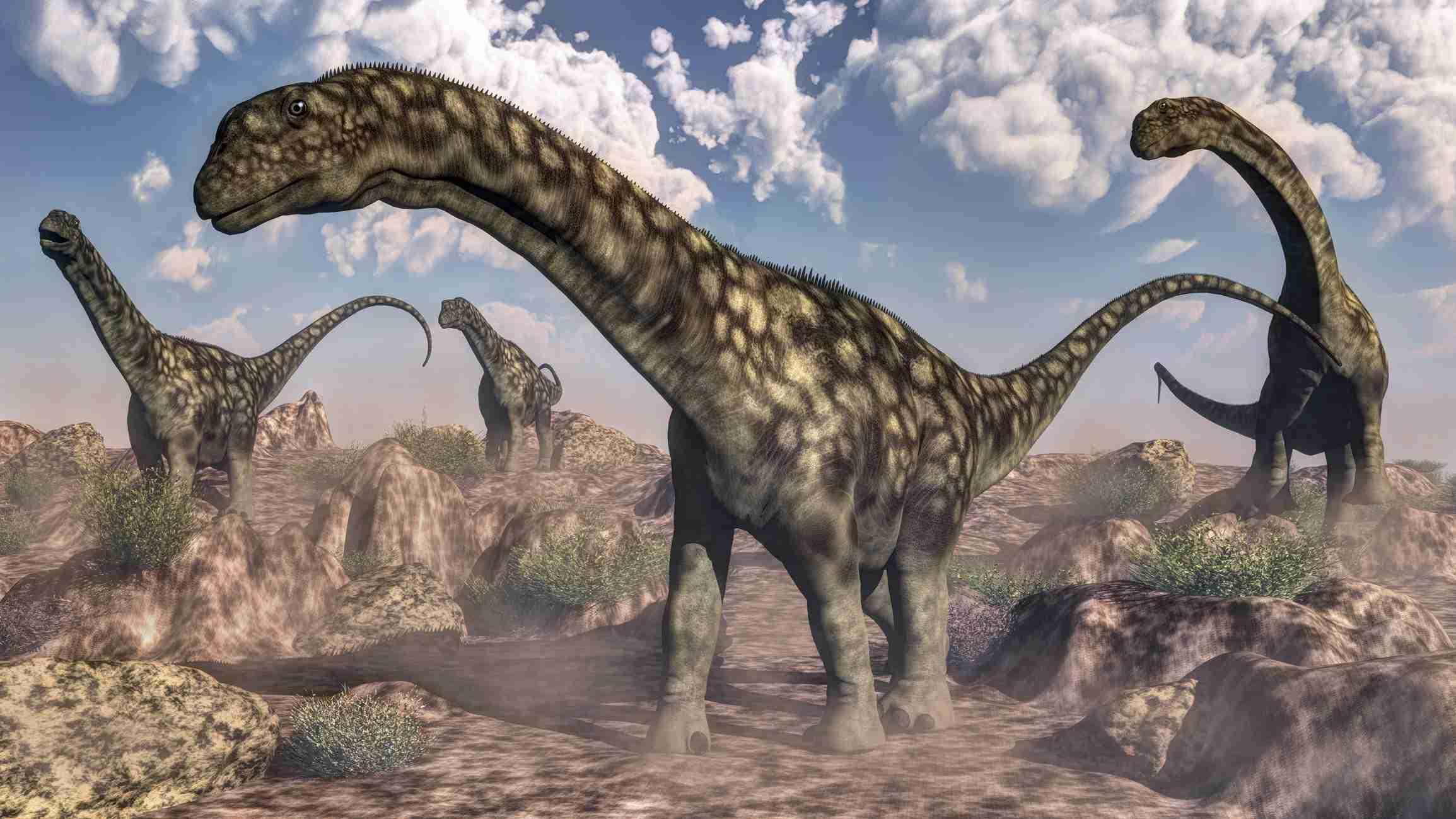 South American dinosaurs