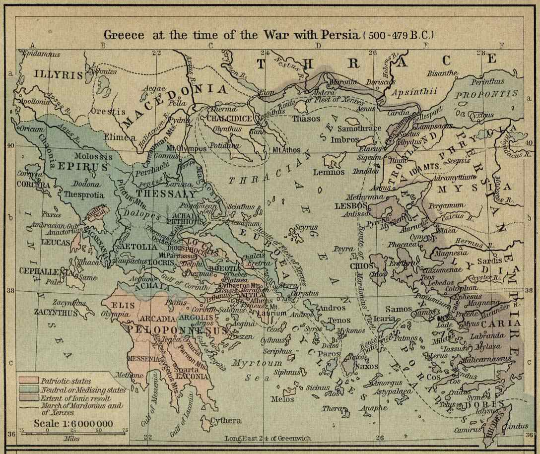 A group of maps of the ancient superpower of greece gumiabroncs Choice Image
