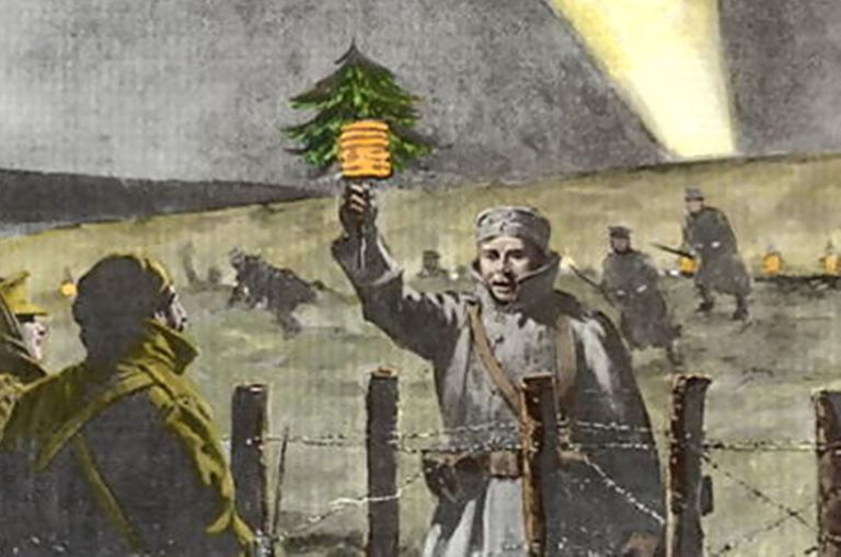 Wwi Christmas Truce.Christmas Truce Of 1914 In World War I