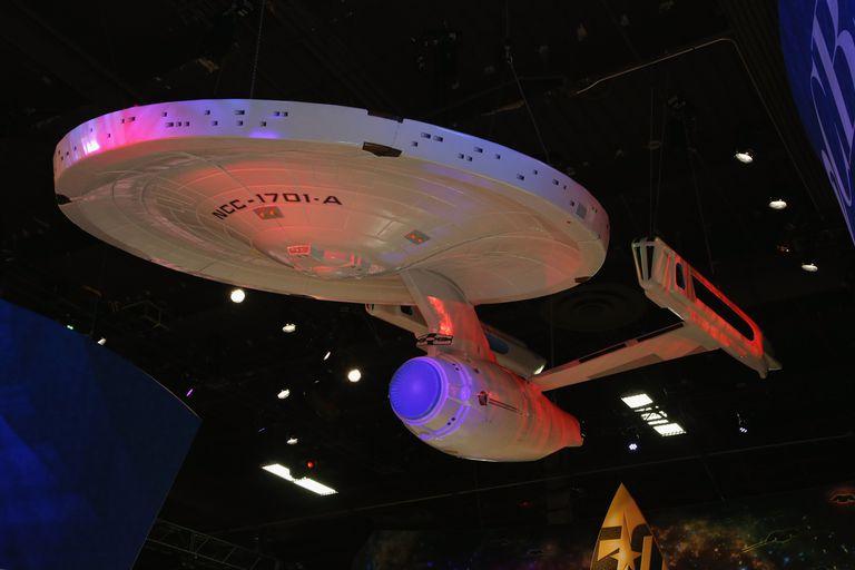 Enterprise replica from Star Trek