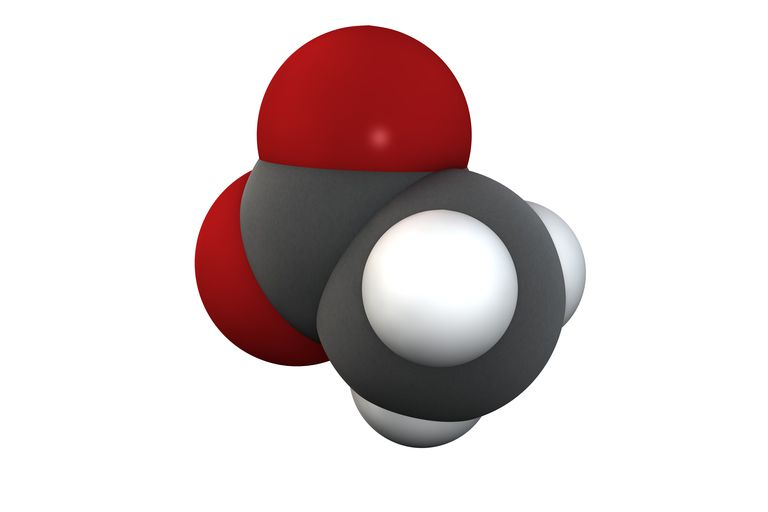 Acetic acid molecule
