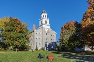 Old Chapel on the campus of Middlebury College, Vermont