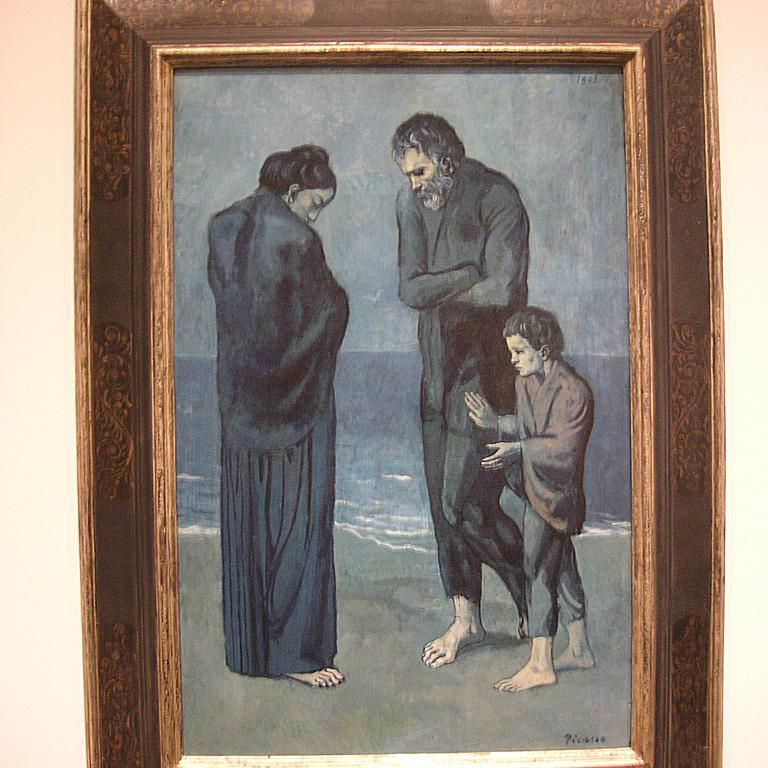 """""""The Tragedy"""" - Picasso"""