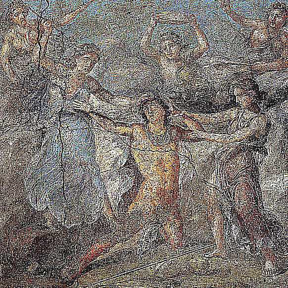 Pentheus' Sparagmos - Pompeii - Casa dei Vettii