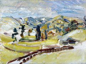 kurt schwitters landscape