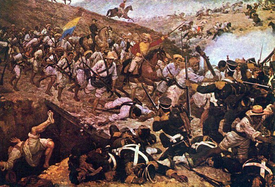 The Battle of Boyaca by Martin Tovar y Tovar