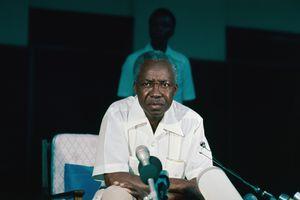 Former Tanzania President Julius Nyerere