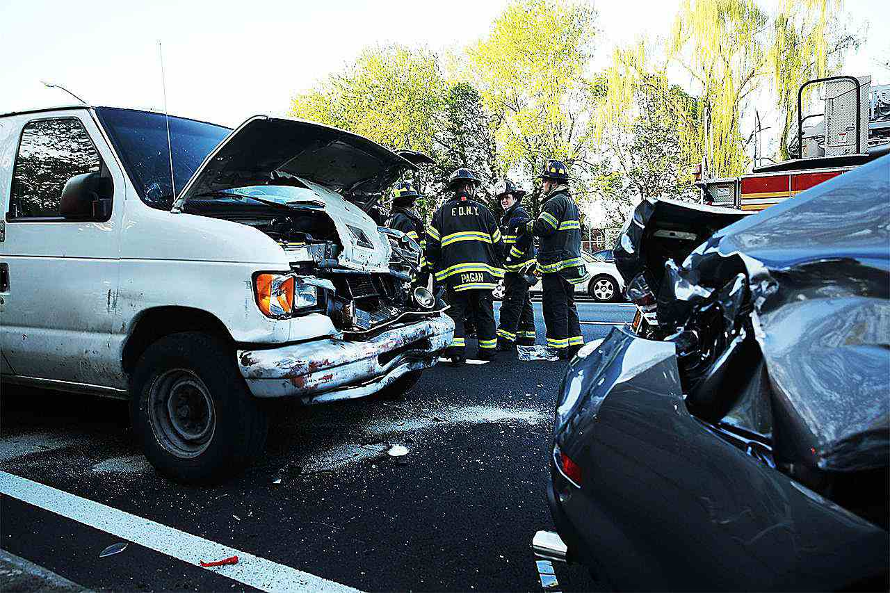 Multiple Car Accident In Brooklyn