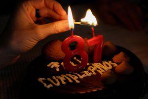 birthday cake in Spanish