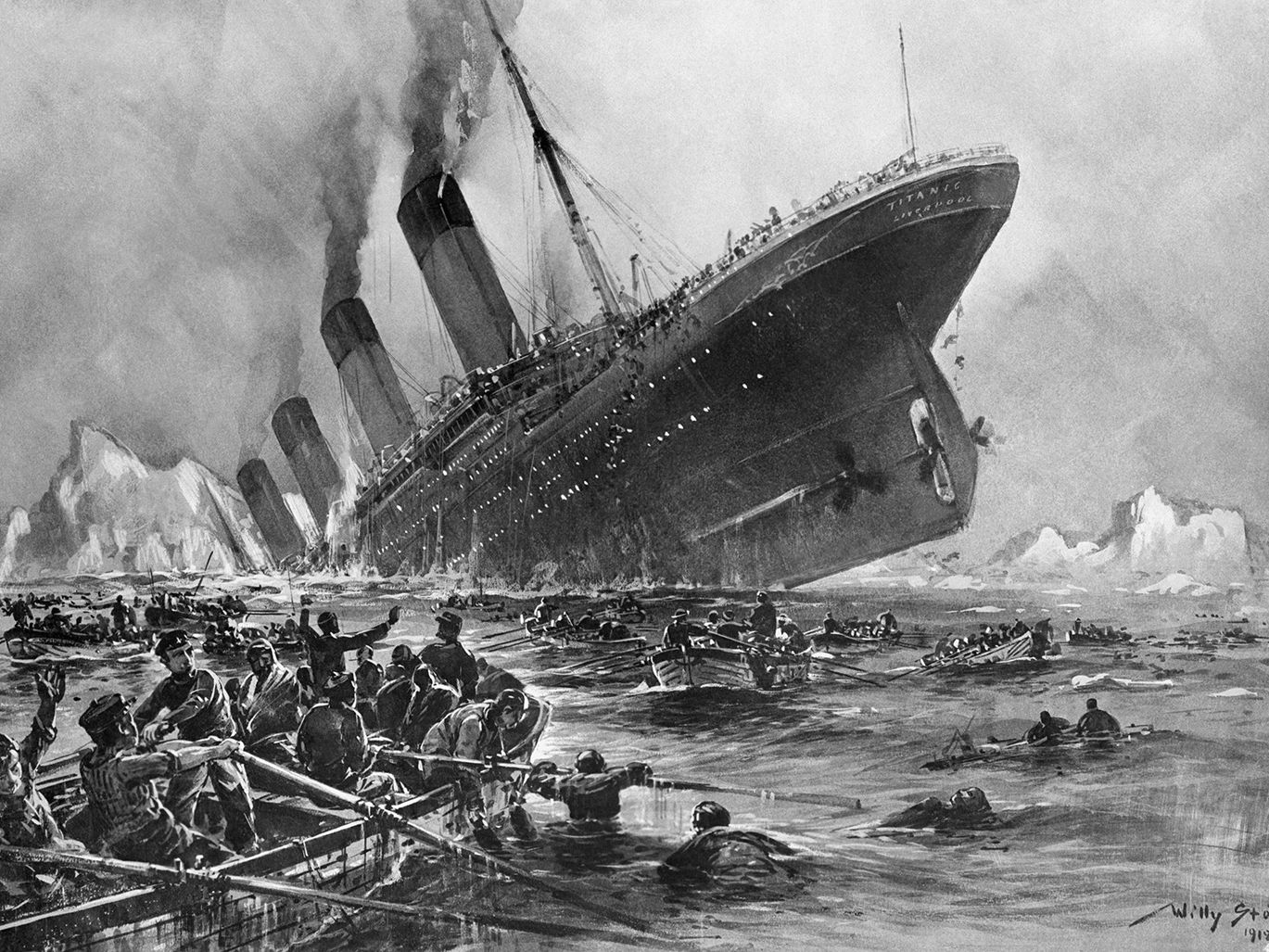 The Sinking of the RMS Titanic (1912)