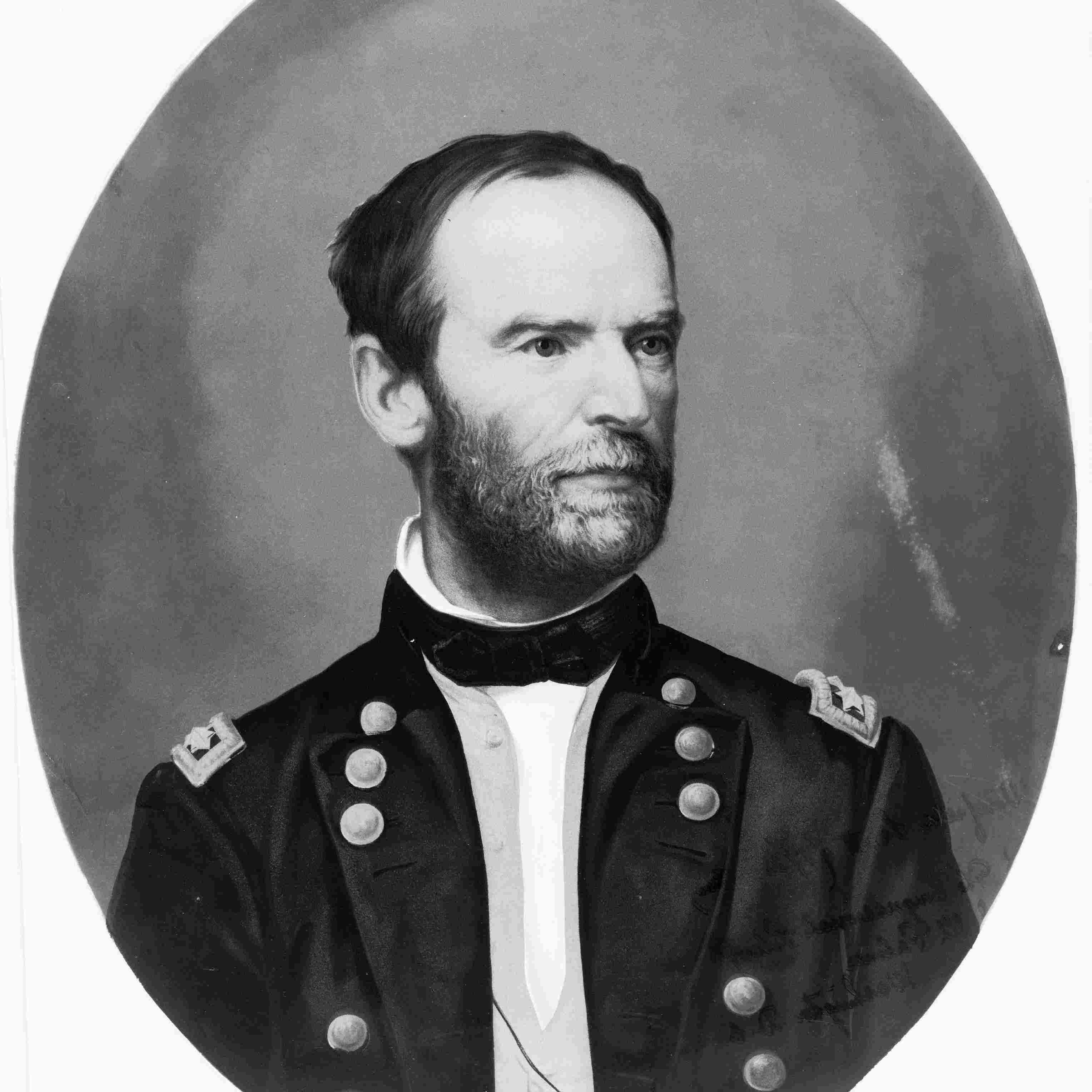Portrait of William Tecumseh Sherman