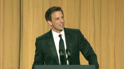 Seth Meyers at the White House Correspondents Dinner