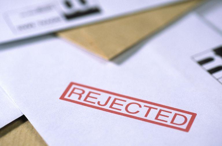 'Rejected' paperwork