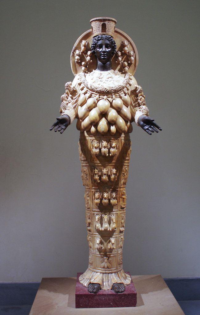 Artemis (Diana) of Ephesus, National Archeological Museum. Naples.