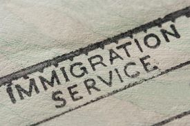 Blank Immigration Stamp