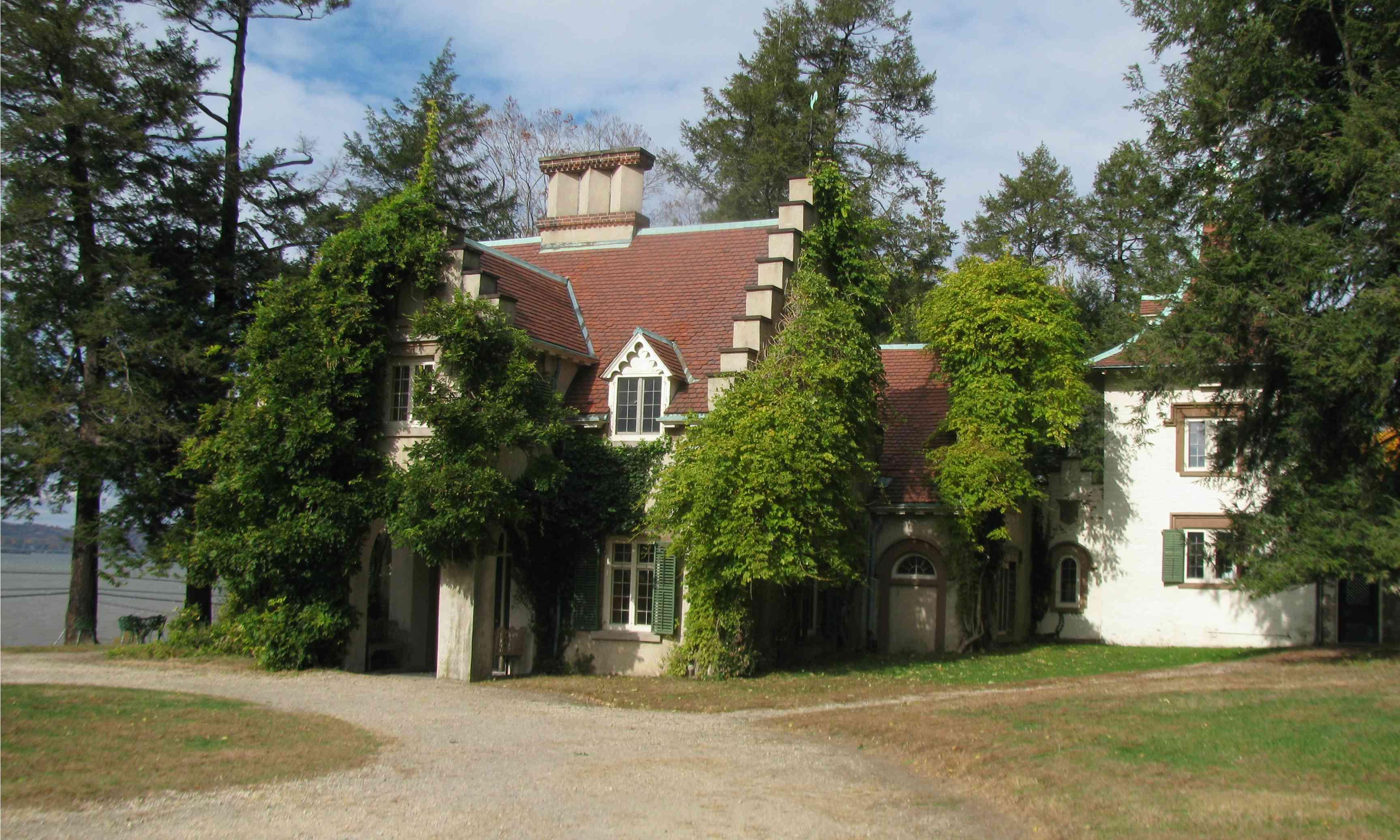 Ashington Irvings Sunnyside Anwesen in Tarrytown New York