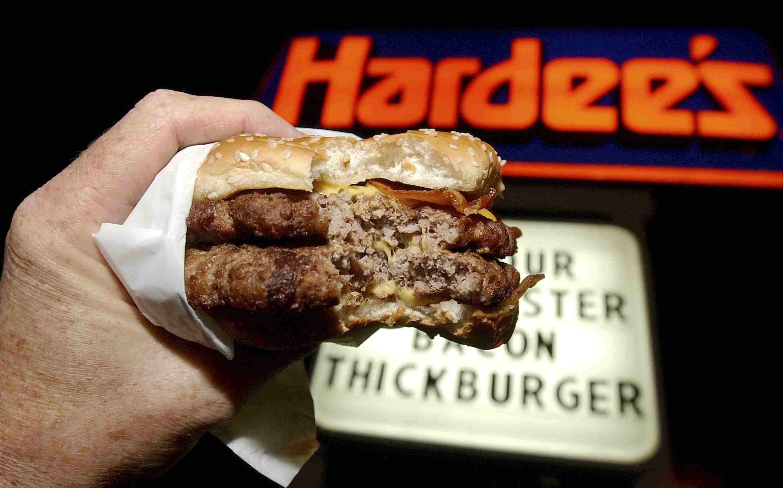 Hamburguesa de Hardee's