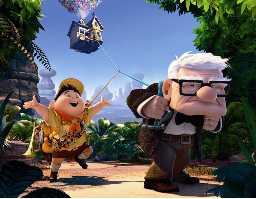 up 2009 movie photos and characters