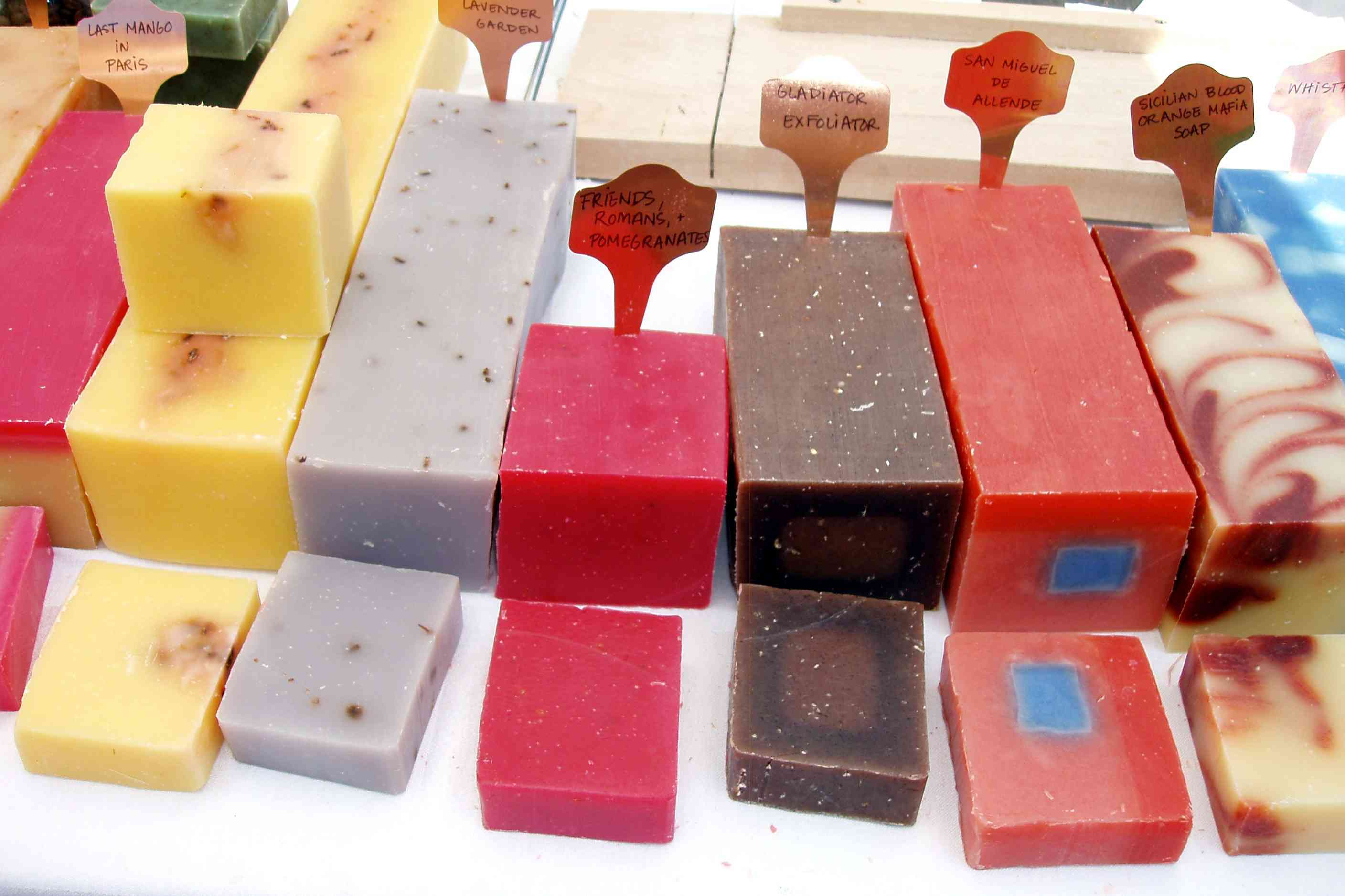 Artisanal, flavory soaps are descended from those invented in Asia nearly 5,000 years ago