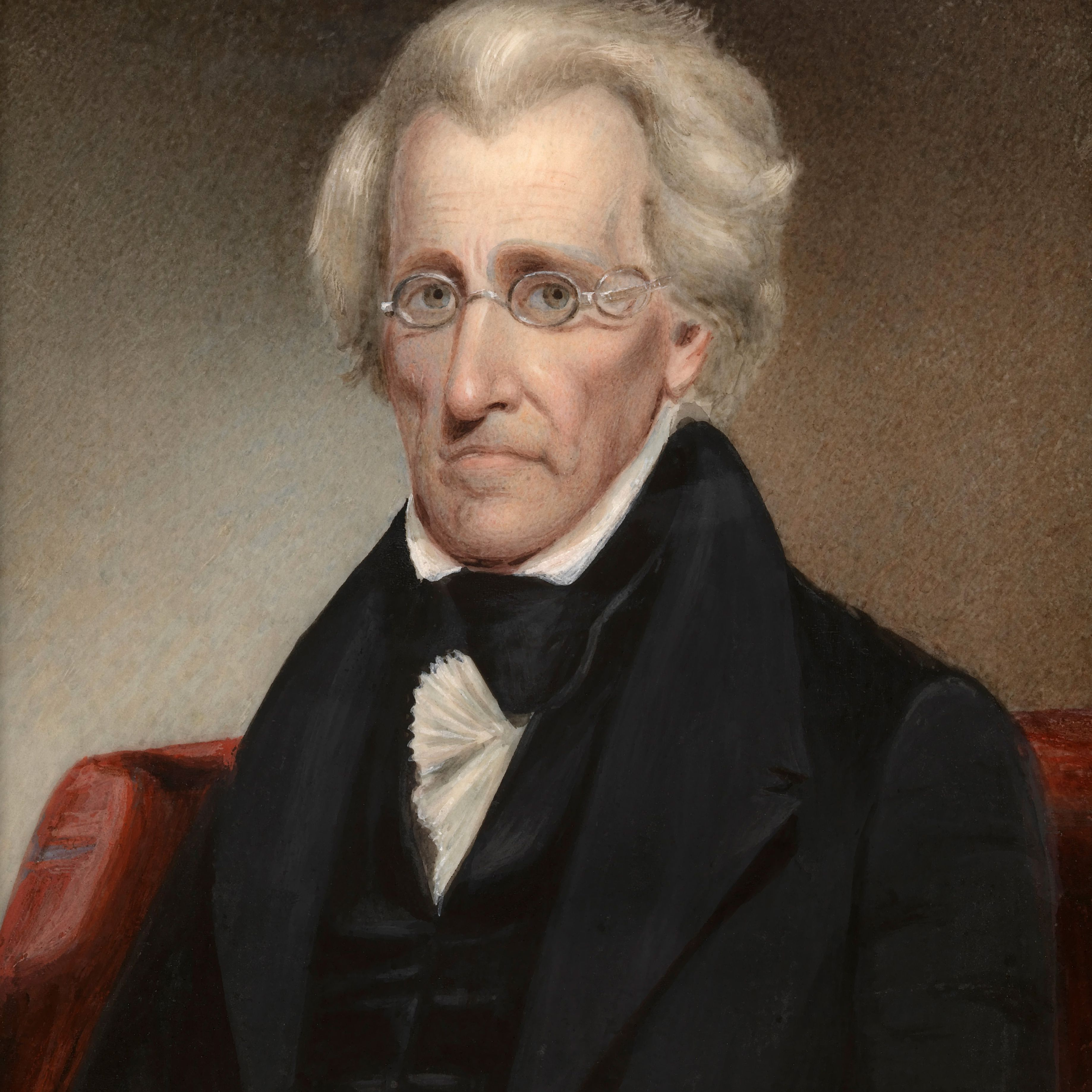 Painting of President Andrew Jackson.