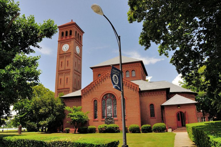Memorial Church at Hampton University