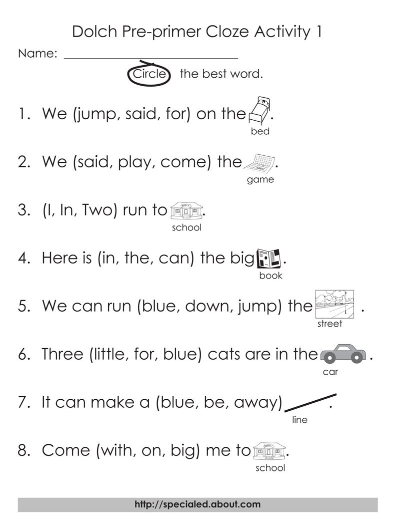 Worksheets Primer Sight Word Worksheets dolch high frequency words free printable worksheets