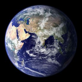 Earth as a water world