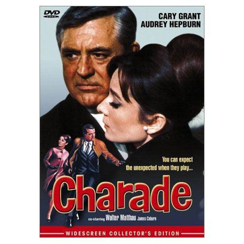 Charade Movie Review - Cary Grant and Audrey Hepburn