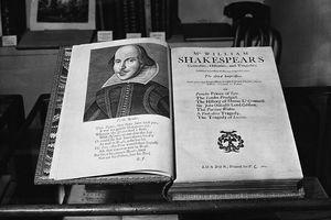Folio of Shakespeare's Plays