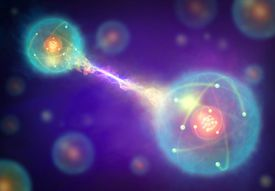 The EPR Paradox is a thought experiment that demonstrates quantum entanglement of particles.