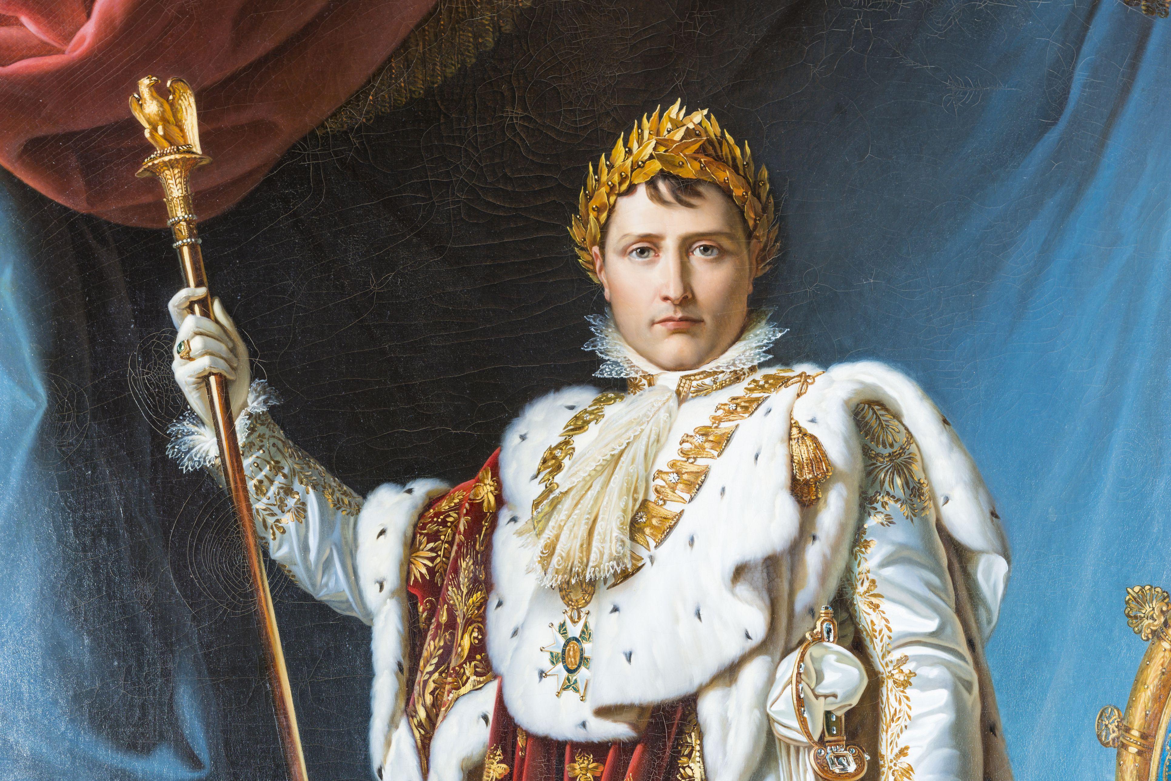 Painted portrait of Napoleon Bonaparte by baron Francois Gerard