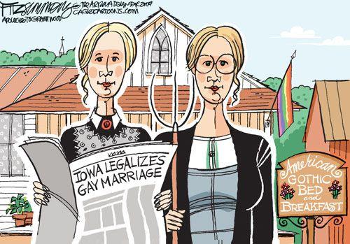 from Elias gay adoption political cartoons