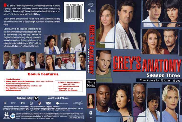Greys Anatomy Season 3 Synopsis The Main Themes