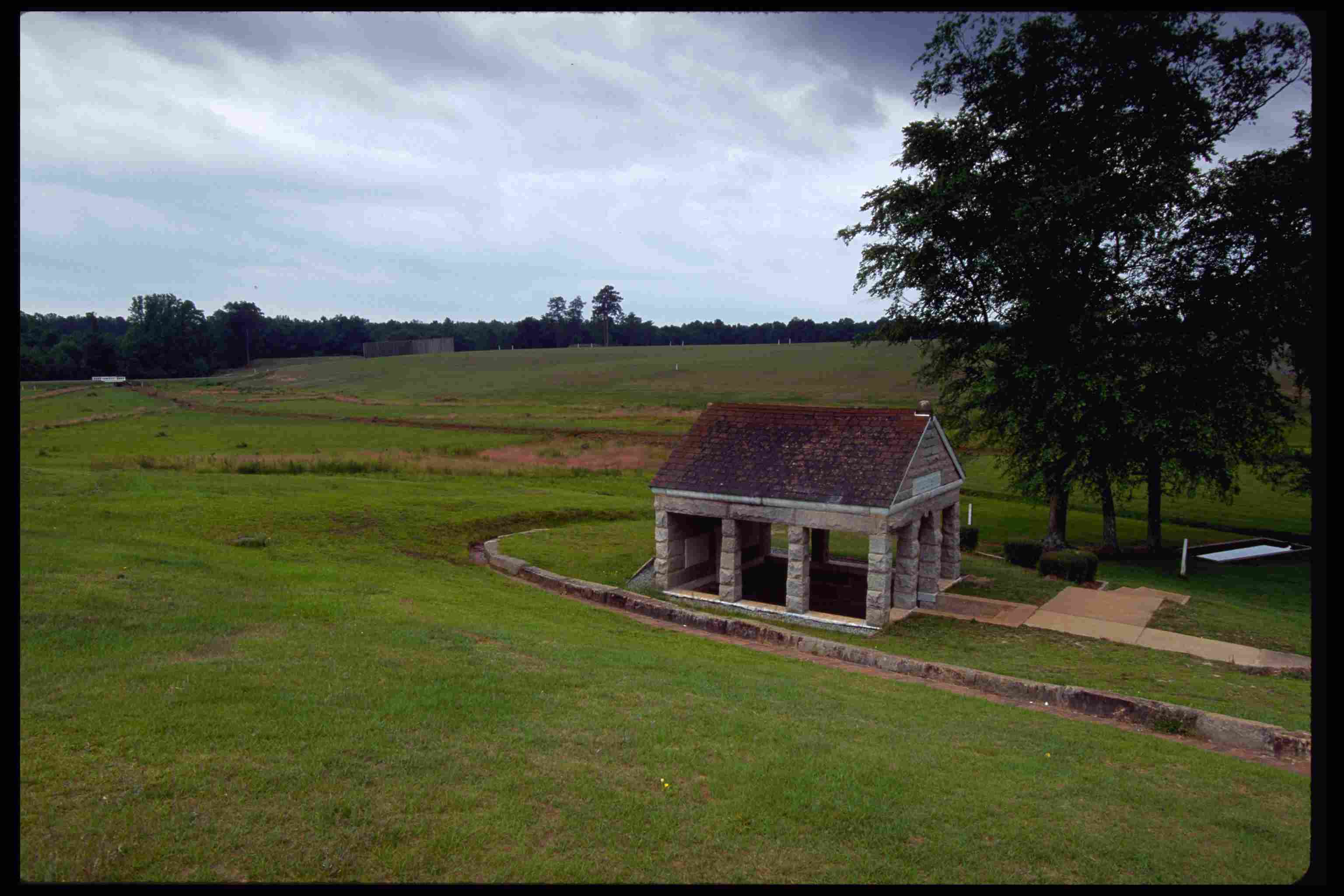 View of Andersonville National Historic Site