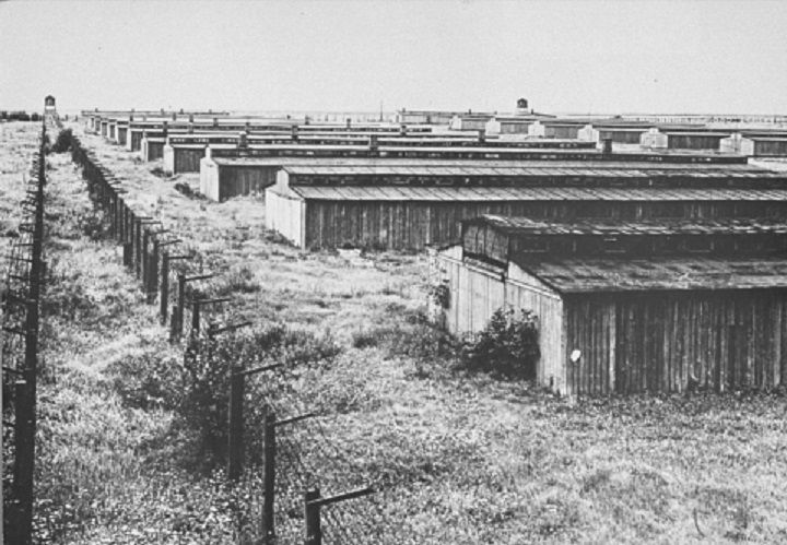 Barracks at Majdanek.