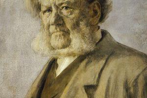 Portrait of Henrik Ibsen