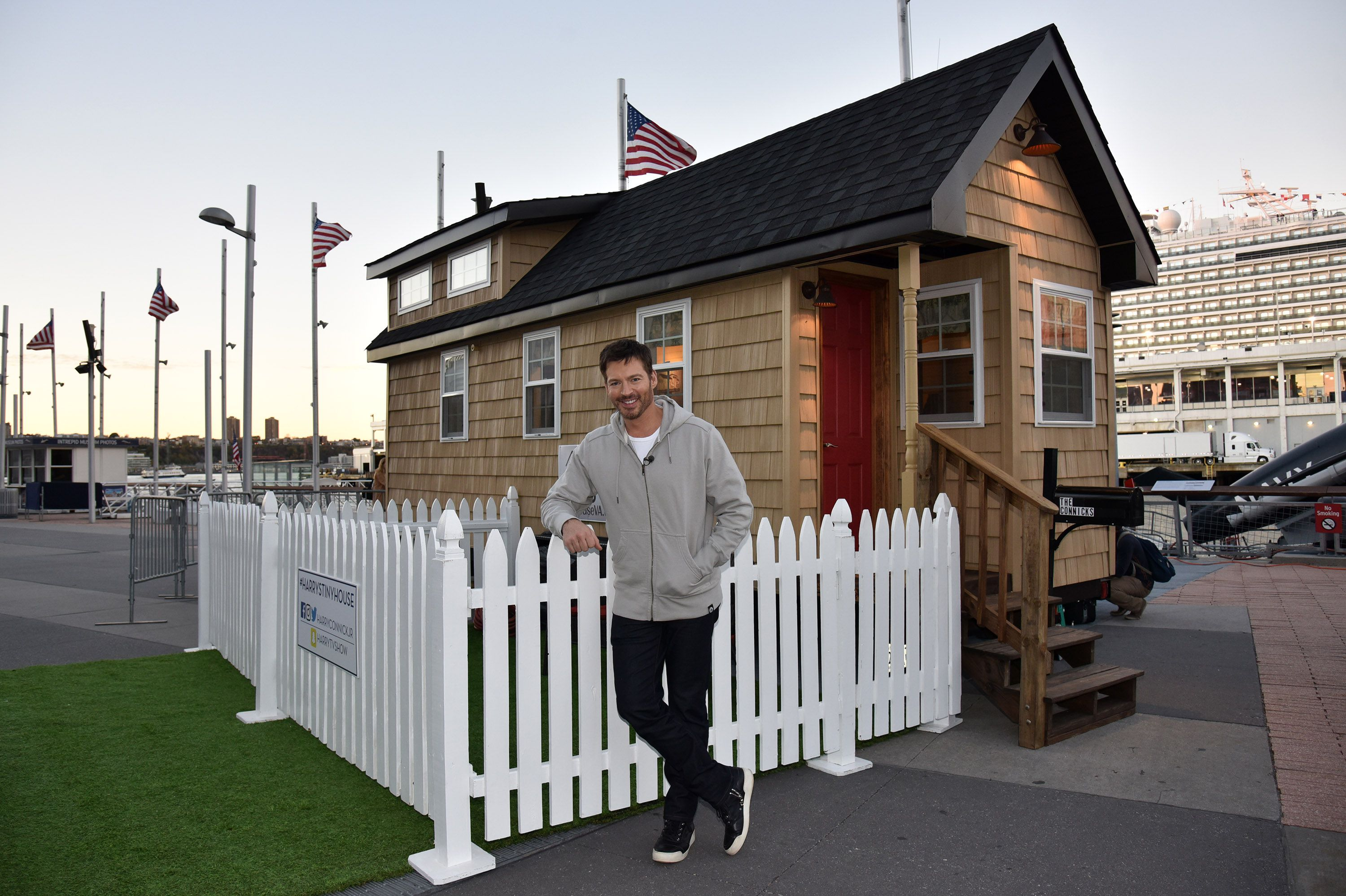 Harry Connick Jr. attends his Tiny House Challenge on November 4, 2016 in New York City