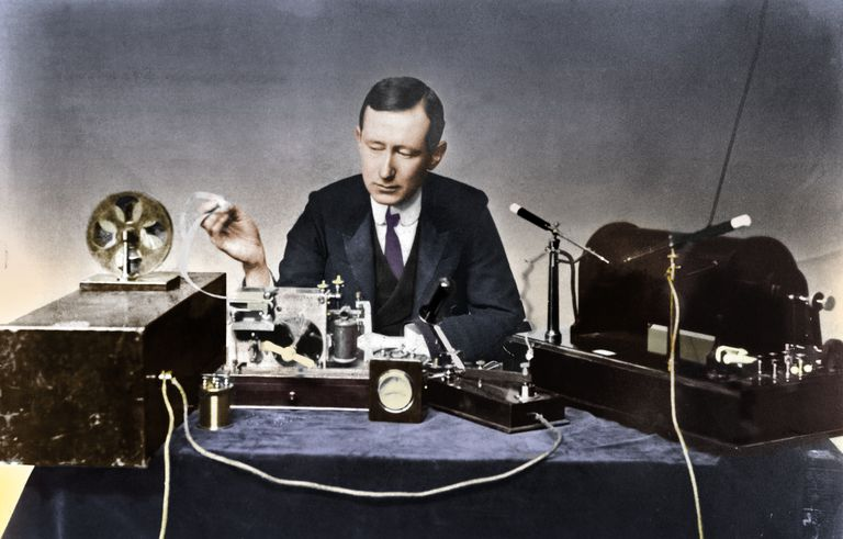 Guglielmo Marconi (1874-1937), Italian Physicist And Radio Pioneer