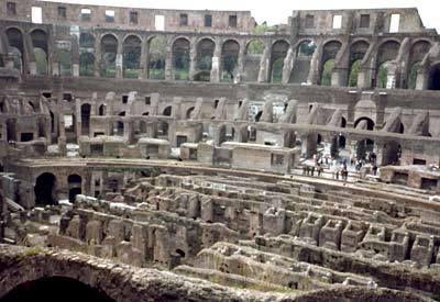 Ciri Ciri Reka Bentuk Colosseum
