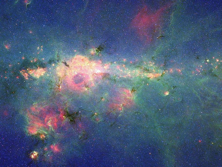 massive stars in the peony nebula
