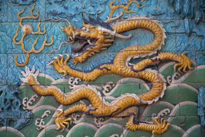 Imperial dragon of China