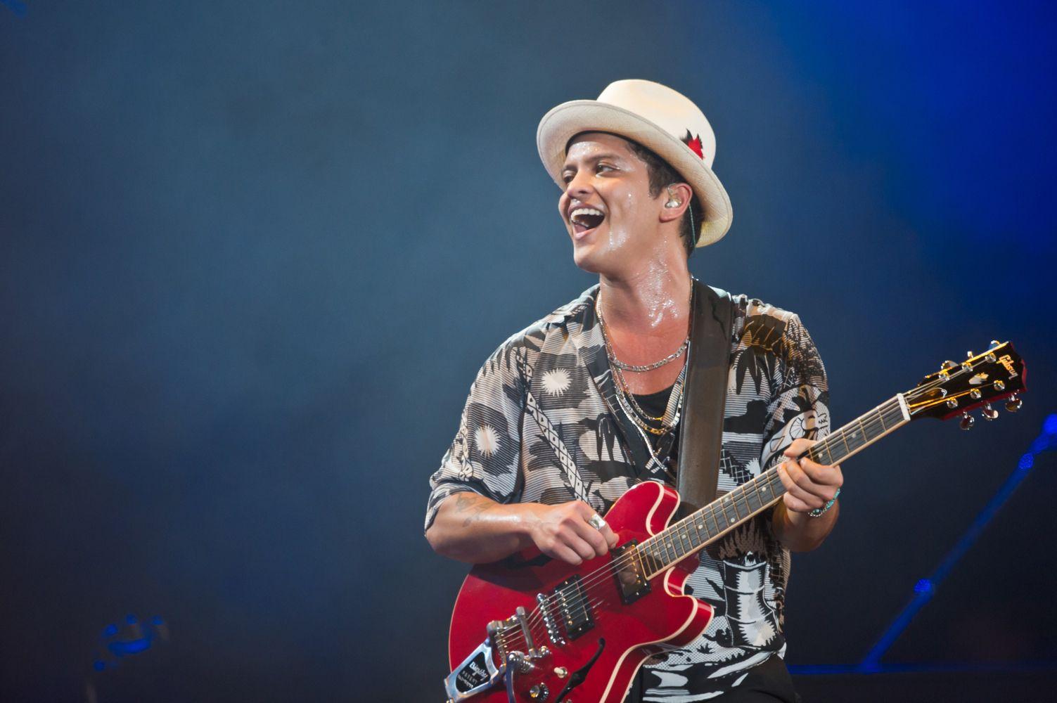 Bruno Mars Biography And Profile