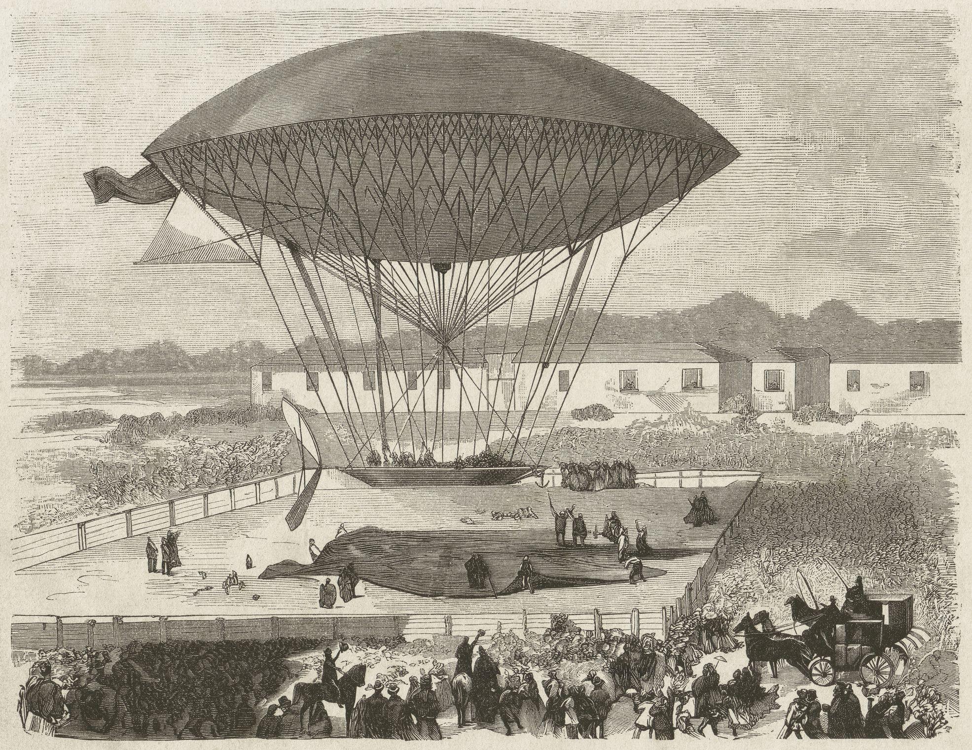 History of Airships and Flight Balloons